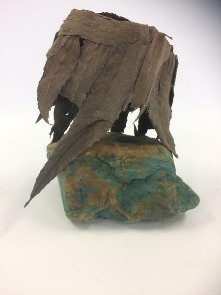 Kubistisch - steen, bladeren